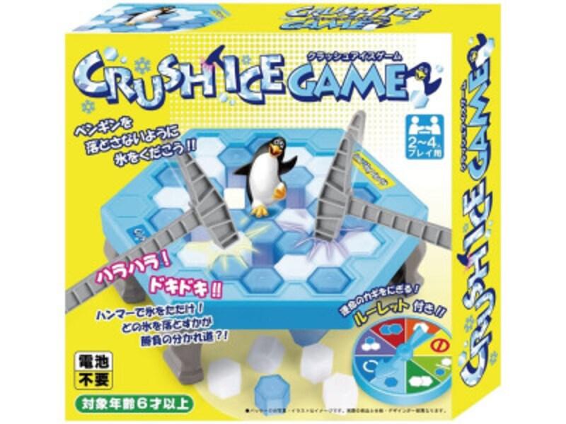 ペンギンを落としたら負け。どのアイスブロックを落とす?