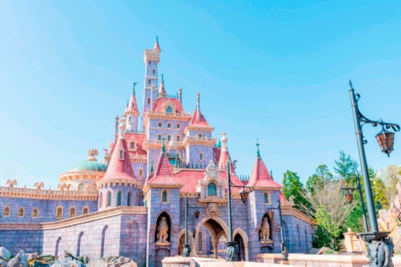 ファンタジーランドを拡張した「美女と野獣エリア」(c)Disney