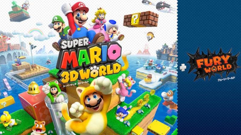 『スーパーマリオ3Dワールド+フューリーワールド』(画像は任天堂のプレスリリースより)(c)Nintendo