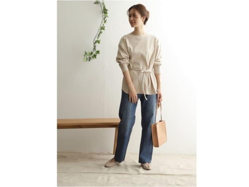 ウエストマークできるデザインは、腰の位置を高く見せてくれて一押しです 出典:WEAR