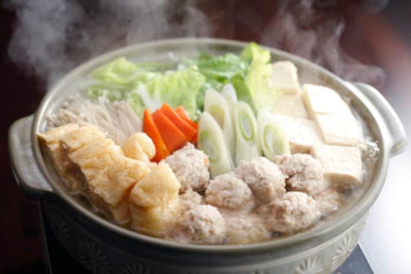 冬のダイエットにおすすめの食材5:鍋料理