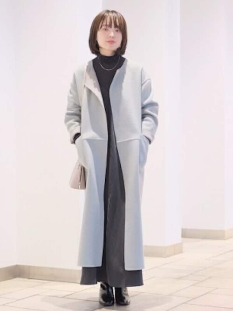 リバーコートはさらっと軽やかに羽織れるのが特徴 出典:WEAR