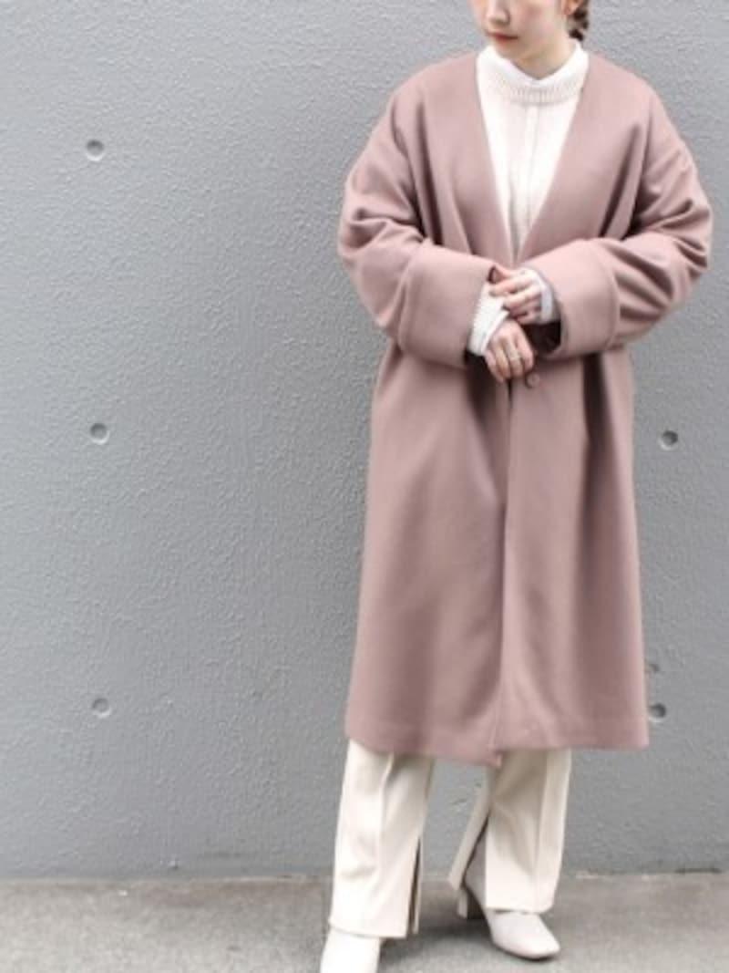 ダスティピンクはくすんだ色合いのピンクを指します 出典:WEAR