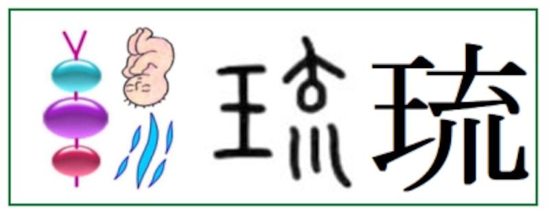 平成以降に名前に使える漢字「琉」