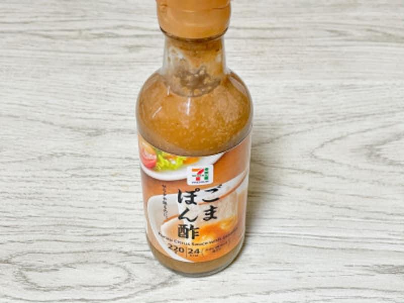 セブンプレミアム ごまポン酢(税込213円)