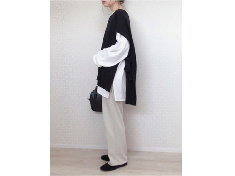 セットアップでも着られるストレッチダブルフェイスストレートパンツは買い! 出典:WEAR