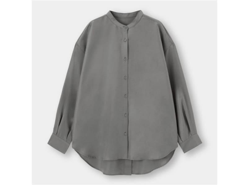 GUバックスリットボリュームスリーブシャツ1990円(税抜)