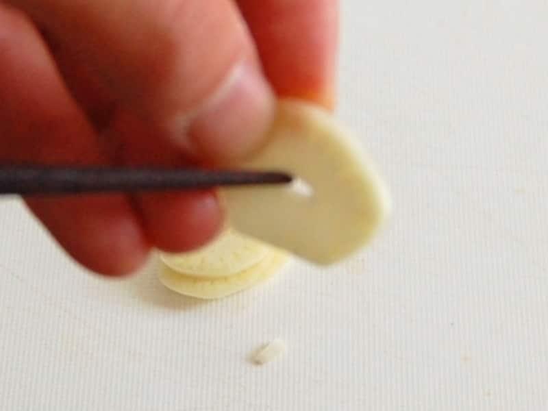 にんにくの切り方/薄切り