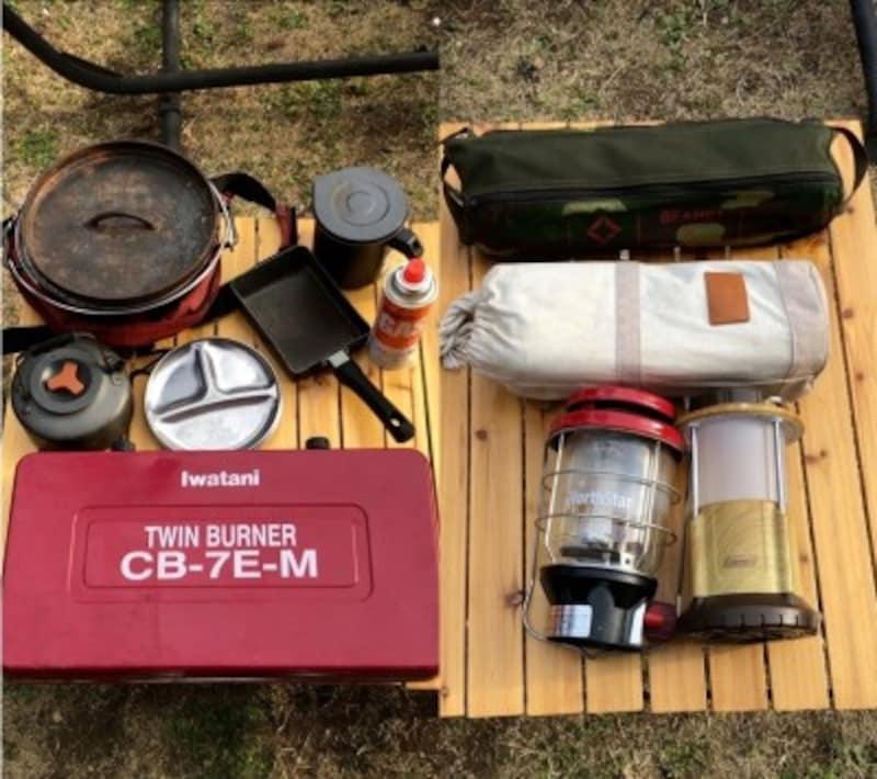 キャンプ用品