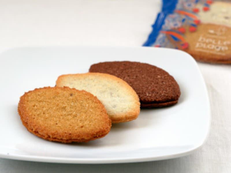 ココサブレはキャラメル、プレーン、ココアの3種類