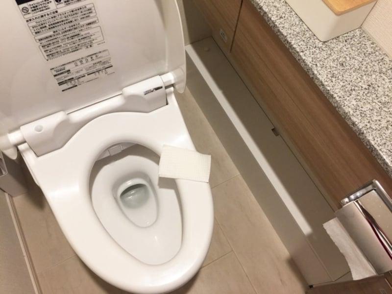 トイレ掃除がラクになる