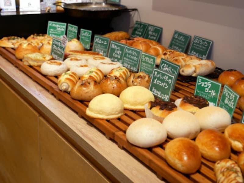 よつばベーカリーのパンはどれもふんわりやわらか