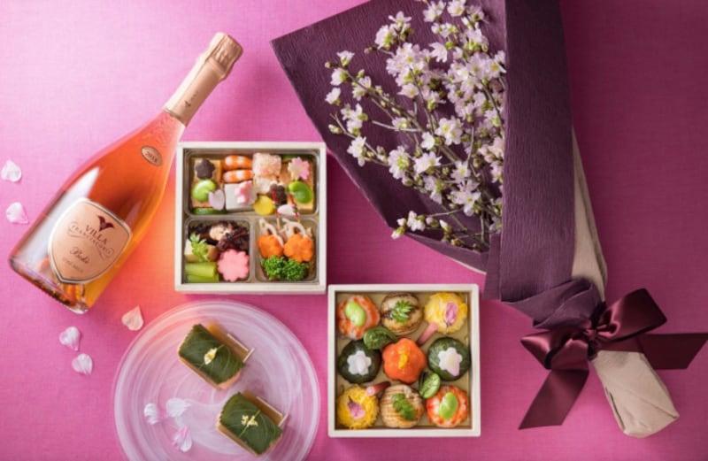 華やか&キュートなホテル椿山荘東京のお花見セット「SAKURA」