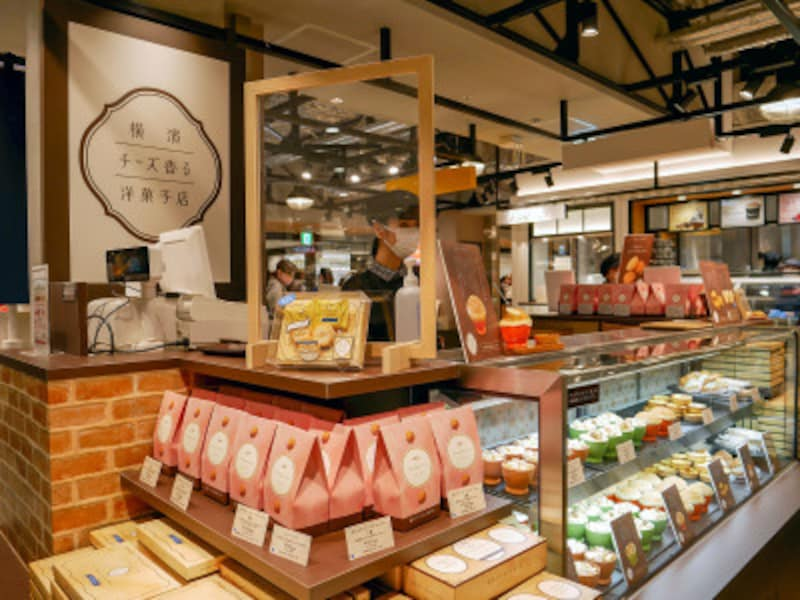 横浜高島屋に復活した「横濱チーズ香る洋菓子店」