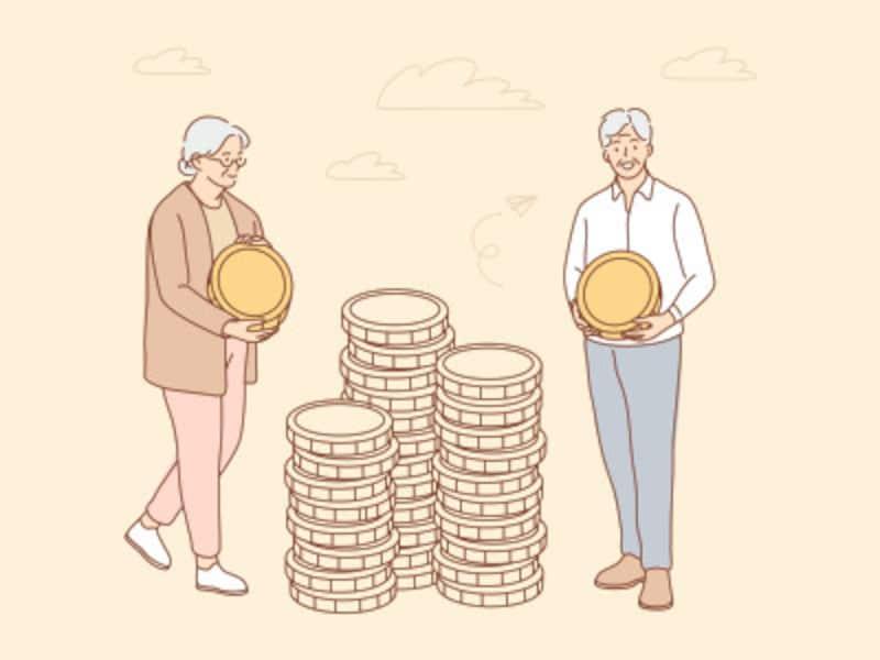 生活レベルは大きく変えず、支出の水準は一定をキープ