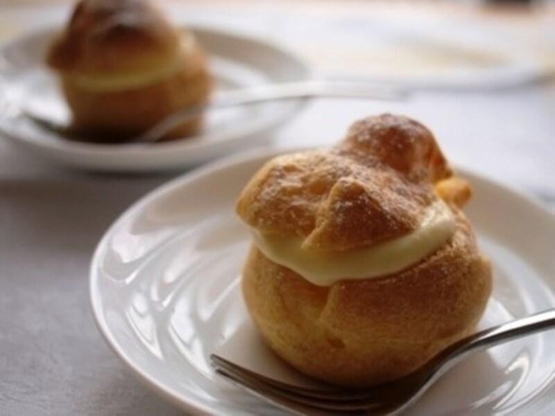 シュークリームのレシピシュー生地から作る簡単シュークリーム