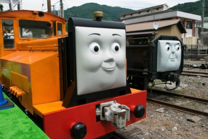 ディーゼル機関車のラスティ