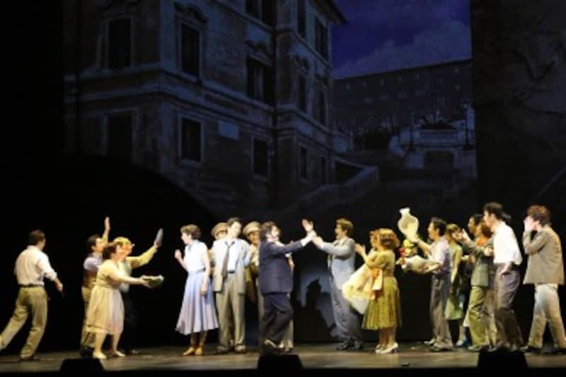 『ローマの休日』写真提供:東宝演劇部