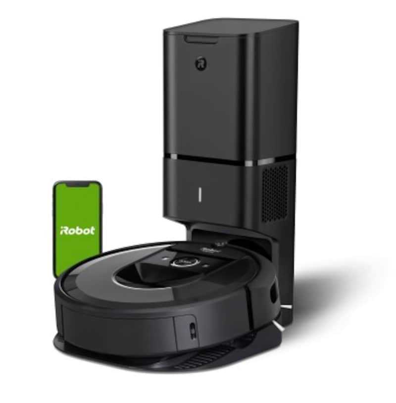 室内を正確にマッピングするアイロボットのロボット掃除機「ルンバ」i7シリーズなら、掃除する部屋の指定も可能です
