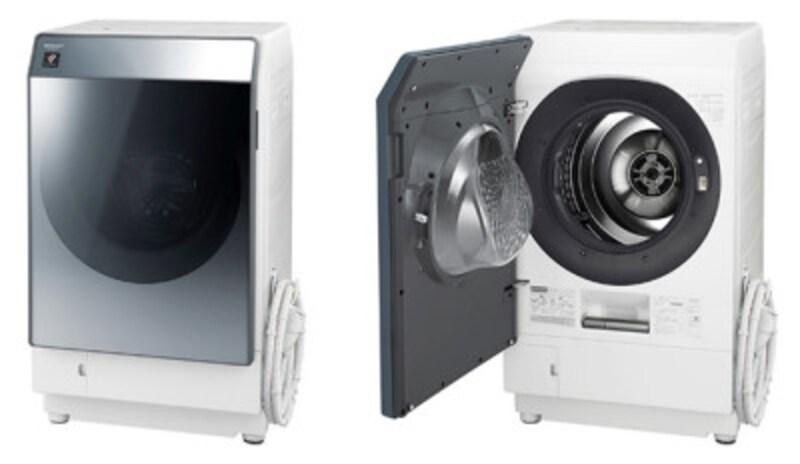 シャーププラズマクラスタードラム式洗濯乾燥機ES-W112
