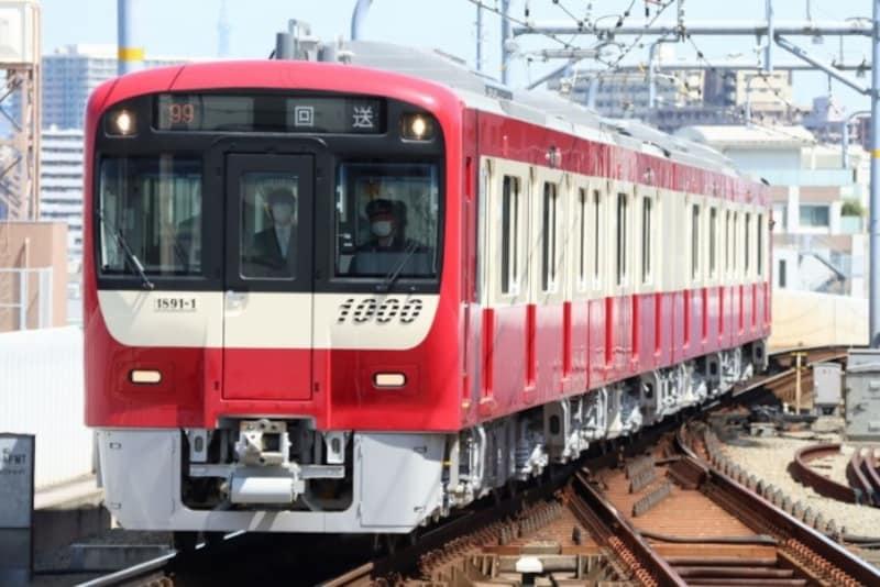 京急の新造車両は4両編成の1891-1号編成