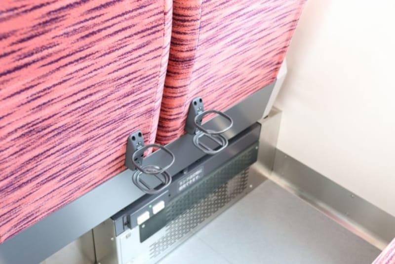 便利なドリンクホルダー