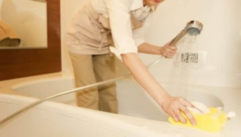 お風呂掃除の大変な例