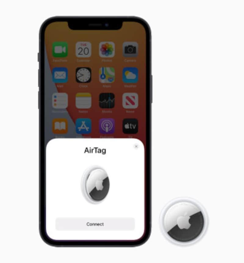シンプルな設定でiPhoneと接続できる