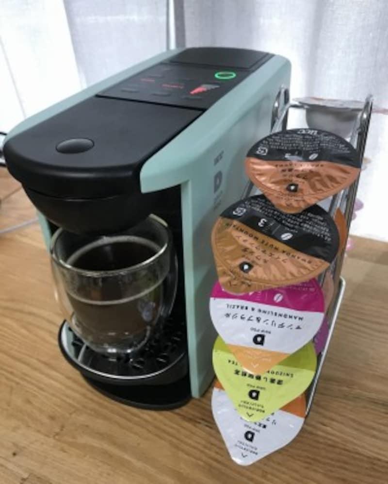 UCCカプセル式コーヒーシステム「ドリップポッドDP3」直販価格1万3200円