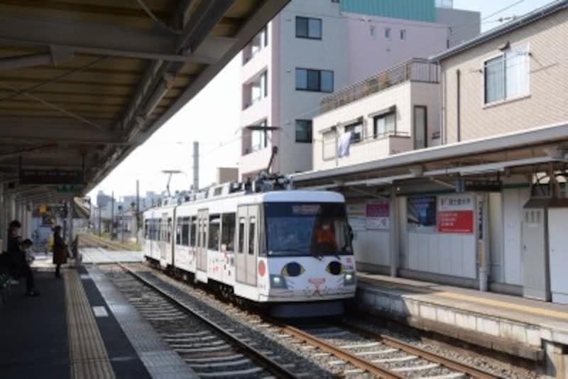 東急世田谷線の世田谷駅