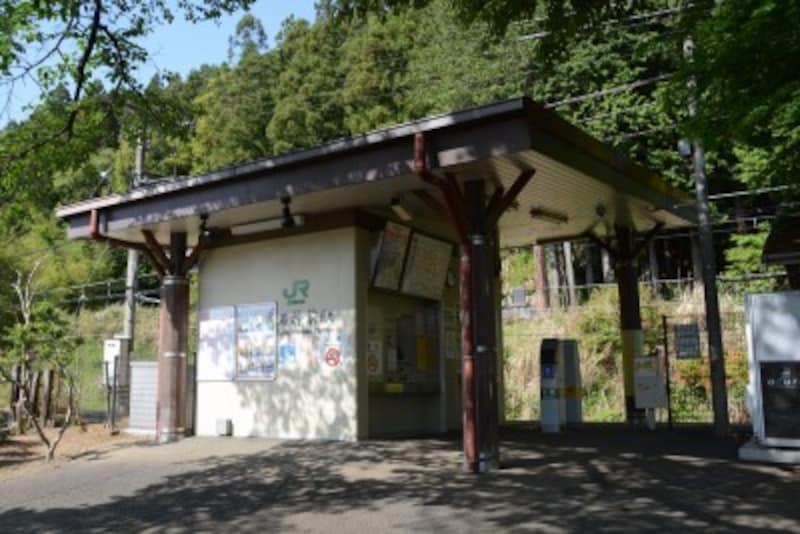 JR青梅線の石神前駅