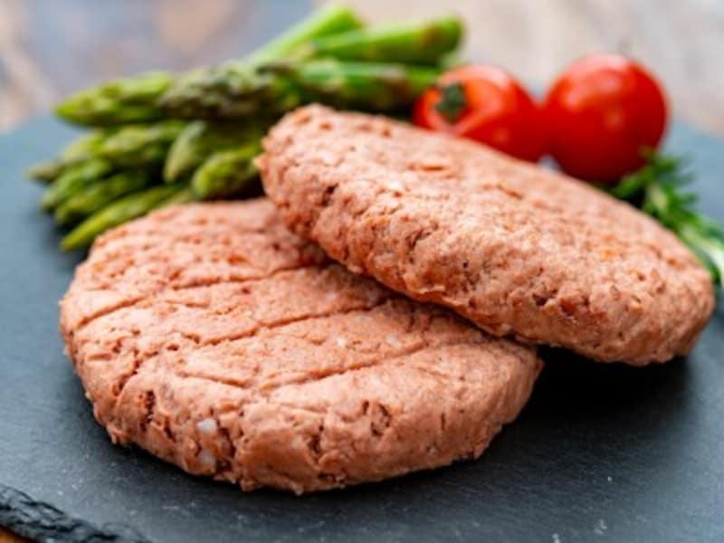 代替肉で作られた料理