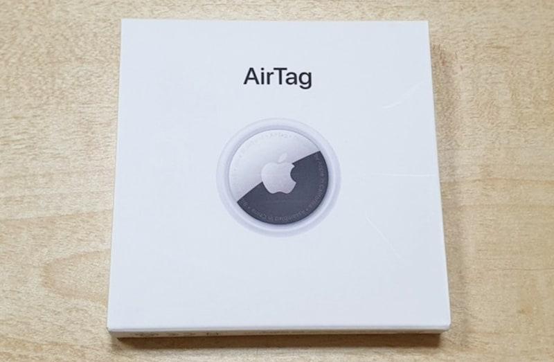 AirTagの価格は1個3800円。4個セットが1万2800円(各税込)