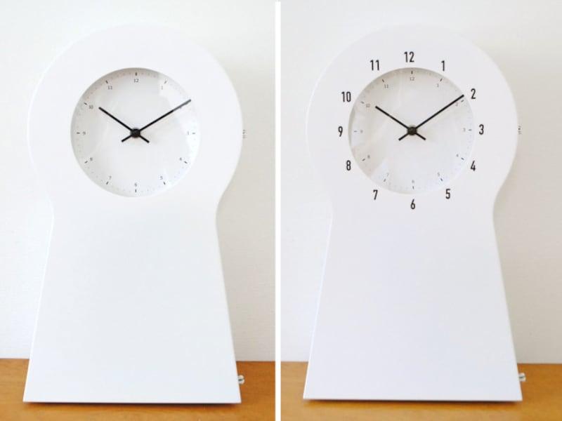 IKEAの時計を100均シールで見やすくアレンジ