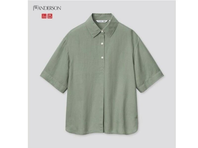 ユニクロ リネンブレンドプルオーバーシャツ 2990円(税抜)