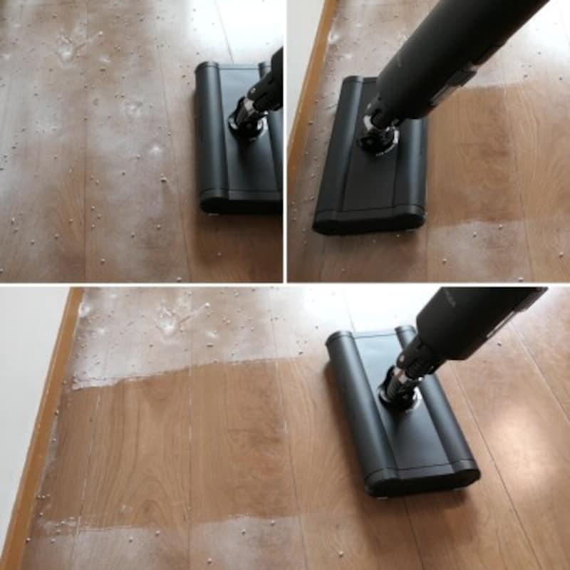 バルミューダ掃除
