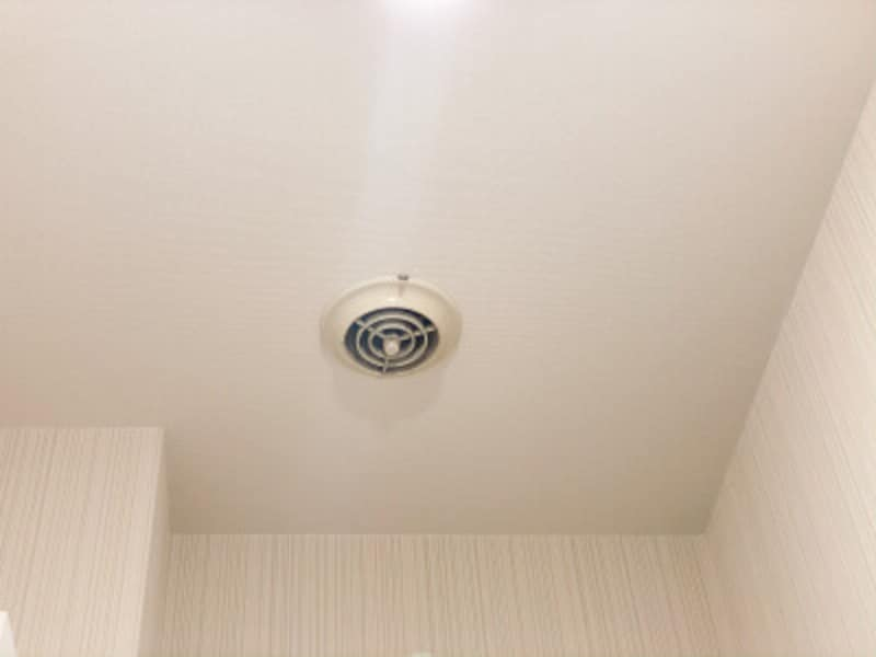 トイレの換気扇