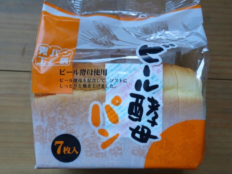 ビール酵母を使った食パンです。
