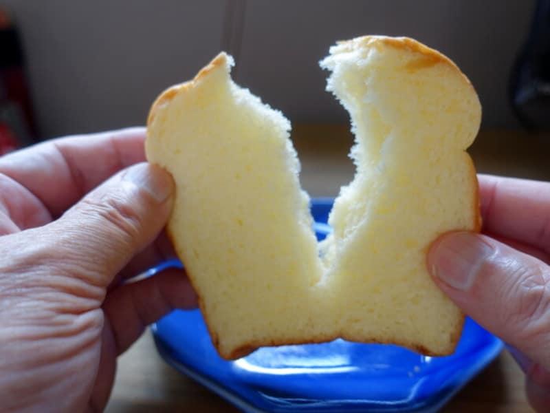 とてもソフトなパンですね。