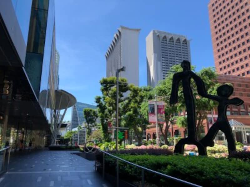 シンガポール,オーチャードロード,コロナ感染対策