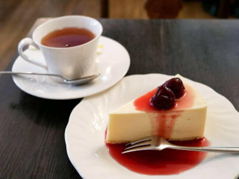 レアチーズケーキ(セット1221円)