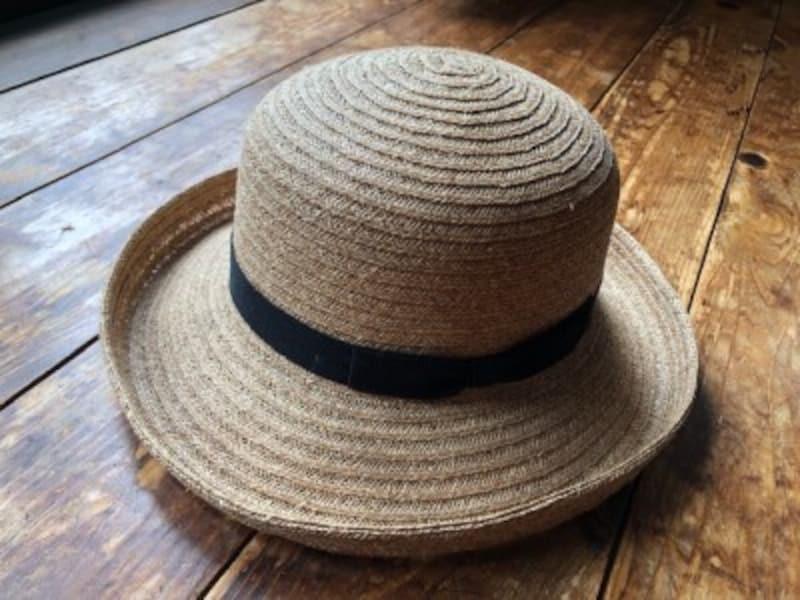 形が崩れない帽子