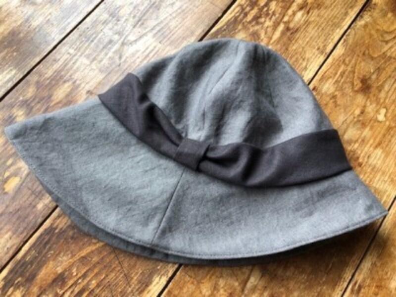 薄くできる帽子はできるだけ薄くする