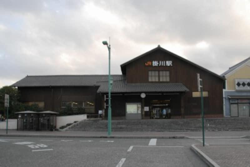掛川駅の木造駅舎