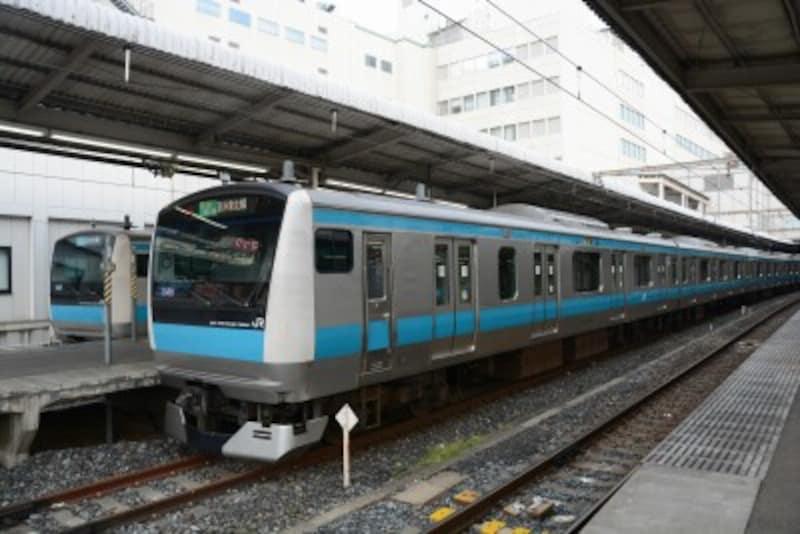 京浜東北線の電車