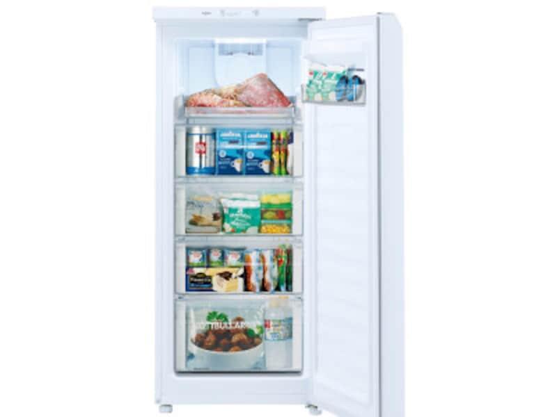 冷凍モードのときは急速冷凍も可能です。