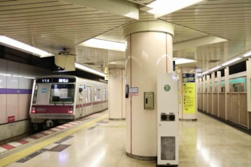 住吉駅ホーム