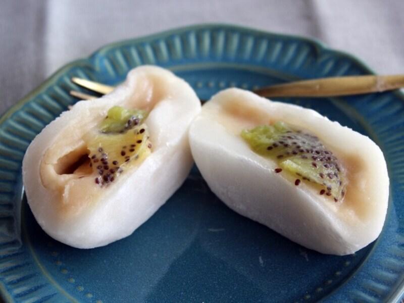 キウイフルーツ大福