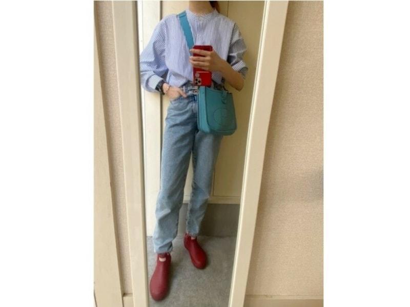 visのプチプラシャツと色を揃えてワントーンコーデに 出典:WEAR