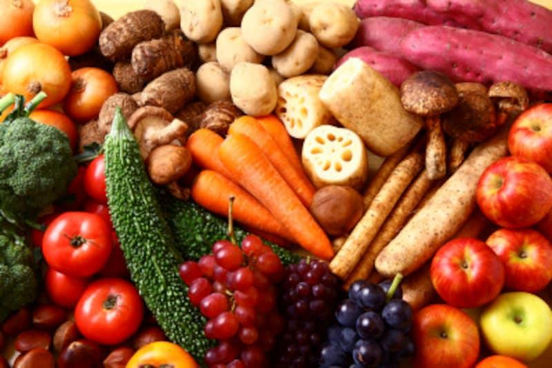 果物と野菜のみではたんぱく質が不足します!